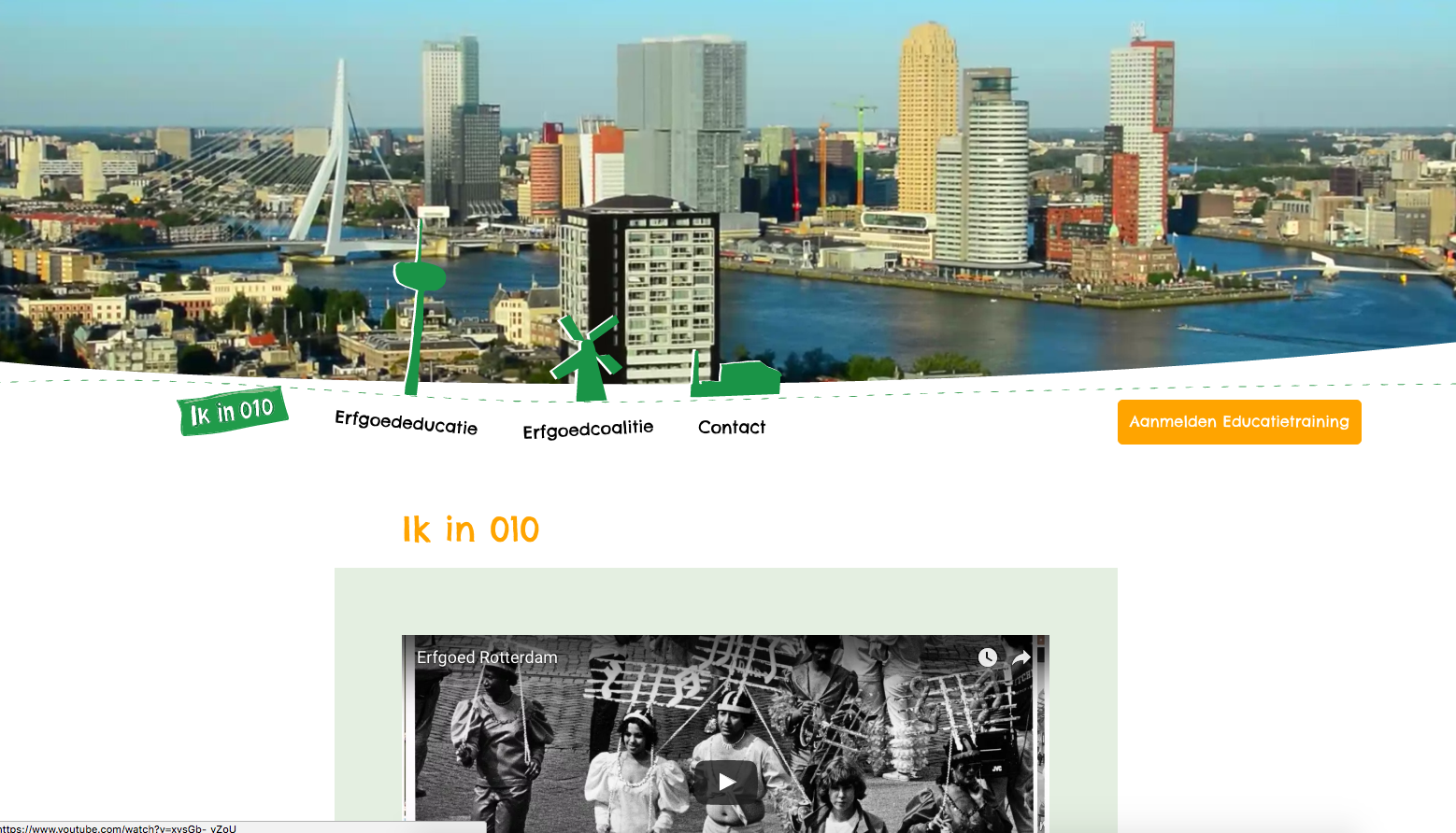 Ik in 010 website